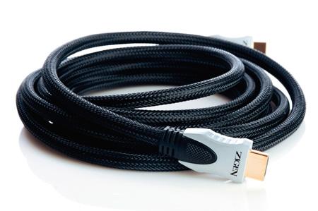 Zigen ZHSC-1.0M HDMI Cable 1m (High speed round) 4Kx2K/ARC/Ethernet/48-BIT
