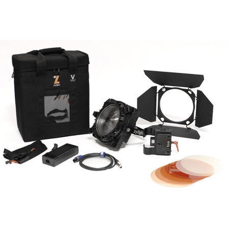 Zylight 26-01051 F8-200 Daylight Single Head ENG Kit with Case - Gold Mount