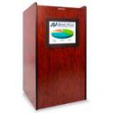 Amplivox SN3265 Visionary Multimedia Lectern - Mahogany