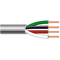 Belden 8444 Non-Paired - Four-Conductor 22 AWG Control Cable 1000 Ft Chrome
