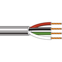 Belden 8489 Non-Paired - Four-Conductor 18 AWG Control Cable 1000 Ft Chrome