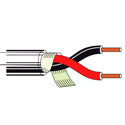 Belden 8737 Single-Pair 22 AWG Cable 1000 ft Chrome
