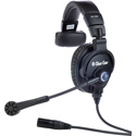 Clear-Com CC-300-X4 Single-Ear Headset with 4-pin Female XLR