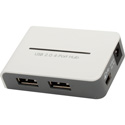 Gefen EXT-USB-144NP USB 2.0 4-Port Hub with Charging Mechanism