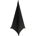 Gator GPA-STAND-2-B Stretchy Speaker Stand Cover-2 sided - Black