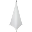 Gator GPA-STAND-2-W Stretchy Speaker Stand Cover-2 sided - White