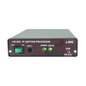 Link LEI-592S IP Closed Caption System - Slave (requires Master & Slave for two way communication)