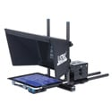 Listec PW-10EBC Teleprompter for ENG Broadcast with Case