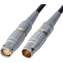 Power Cable 12V/24V DC - Lemo 3B-8M to 3B-8F - 1 Foot