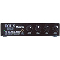 Rolls MA252 Compact Class D Stereo Amplifier with 4-Channel Built-in Stereo Mixer