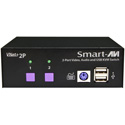 Smart-AVI VNET&2PS 2x1 WUXGA USB and Audio Switch