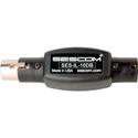 Sescom SES-IL-10DB XLR Male to XLR Female In Line Attenuator - 10db