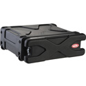 SKB 3 Space Roll-X Rolling Rack Case
