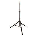 Ultimate Support TS-80B Aluminum Tripod Speaker Stand w/Integrated Spkr Adapter