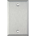 Stainless Steel Single Gang Blank Wall Plate