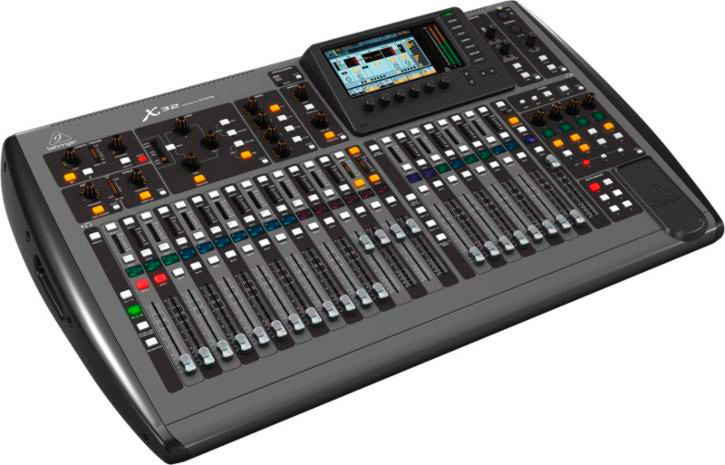 behringer x32 32 channel digital mixer mixing desk. Black Bedroom Furniture Sets. Home Design Ideas