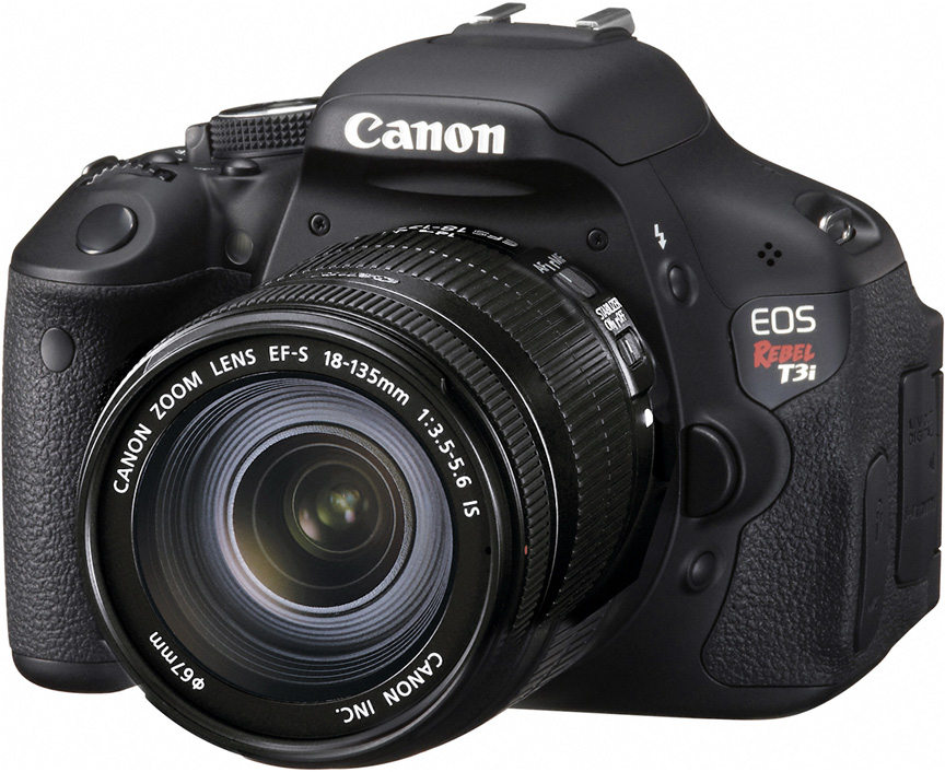 Canon EOS Rebel T3i EF-S 18-135mm IS Kit
