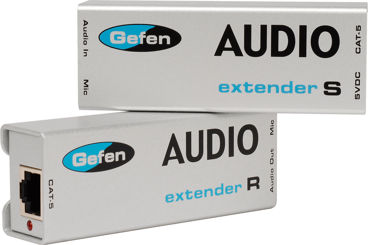 Gefen Ext Aud 1000 Analog Audio Extender Over Cat 5 Cable