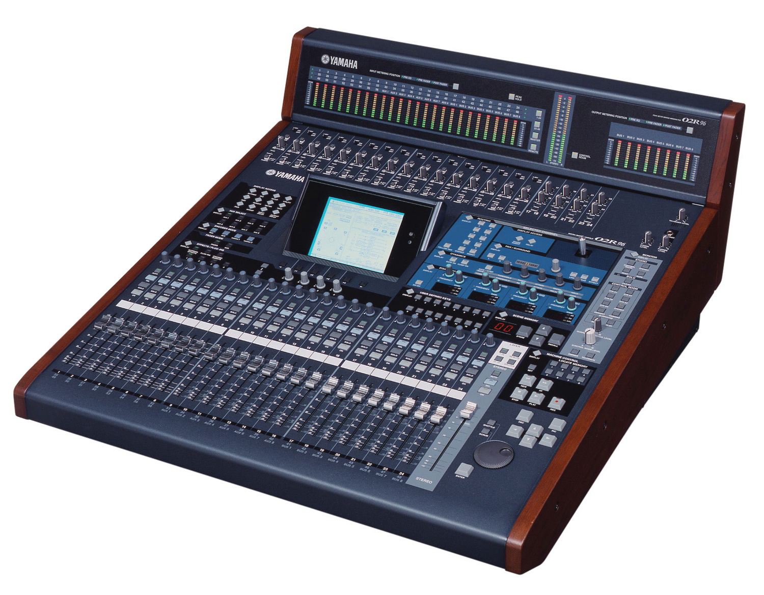 yamaha 02r96vcm 56 input ditigal mixing console. Black Bedroom Furniture Sets. Home Design Ideas