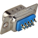 9 Pin D-Sub Connector Insert with Rear Solder Points - Male