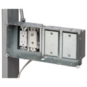 Arlington TVBS613 Steel Recessed TV Box for Power and Low Voltage