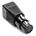 Sescom DMX-5XF-CAT5 5-pin XLR Female to RJ45 DMX Adapter