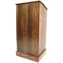 Executive Wood GRAD411 The Graduate Lecturn Light Oak