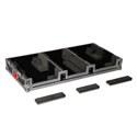Gator G-TOUR COF-LGCD10-ARM1-PL Large Coffin Case w/DJARM 10 In. Mixer Section