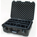 Gator Cases GU-2014-08-WPDV Waterproof Utility Case with Divider System 20x14x8