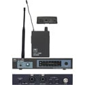 Galaxy Audio AS-900K8 Fixed Frequency Wireless Personal Monitor Freq K8 - 659.0 MHz