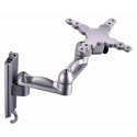 Bentley LCM-111 Tilt/Swivel Cantilever Wallmount for 13-27inch Silver