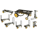 RocknRoller Multi-Cart 8-In-1 Equipment Transporter - R8RT (Mid)