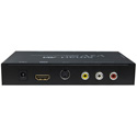 Smart AVI V2V-AV2H-01 - Converts S-Video/Composite Video & Stereo Audio to HDMI
