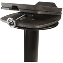 Ultimate Support MS-100B 42 Inch Column Studio Monitor Stand Pair