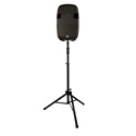 Ultimate Support TS-100B Black Air Assist Speaker Stand w/150lb Capacity