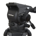 VariZoom VZ-TKC100A 100mm Combo VZ-FH100 Head and VZ-TC100A Aluminum Tripod