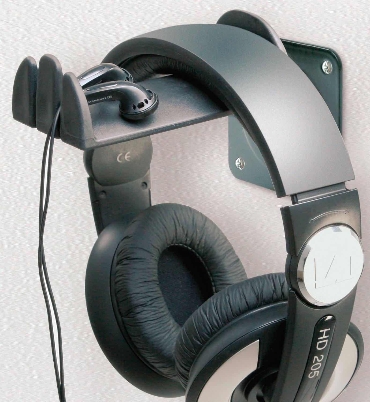 K m 16310 headphone holder wall mount - Wall mount headphone holder ...