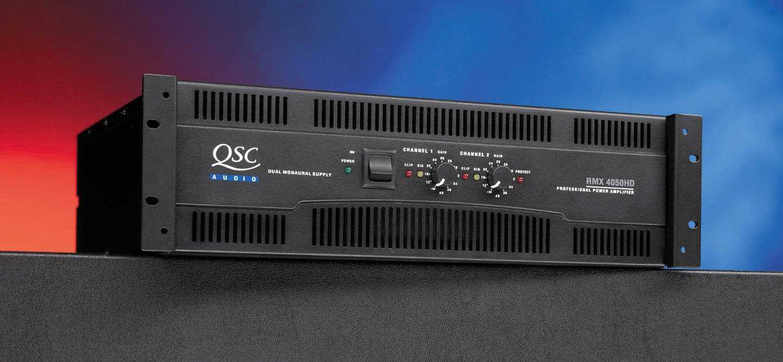 Qsc Rmx 4050hd 4000 Watt Power Amplifier 32