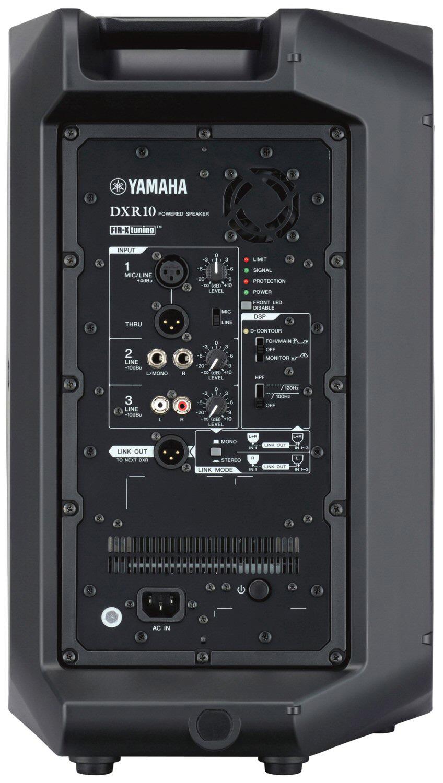 Yamaha Dxr10 10 Inch 2 Way 700 Watt Bi Amp Powered Speaker Priced Each Two 20 Watts Audio Amplifier