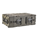 SKB 3RR-4U24-25B 4U Removable Shock Rack