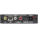 TV One 1T-VS-622 Video to HDMI Scaler With Composite and SVHS Inputs