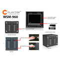 iStar WSM-960 9U 600mm Depth Rackmount Server Cabinet
