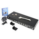 StarTech SV831DUSB 8 Port 1U Rack Mount USB PS/2 KVM Switch with OSD