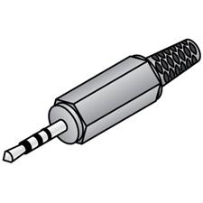 4 Conductor 3.5mm Plug - TRRS