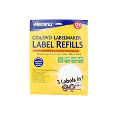 LabelMaker Refills Matte White 120 Pack