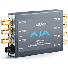 AJA Video 3GDA 1x6 3G/HD/SD Reclocking Distribution Amplifier