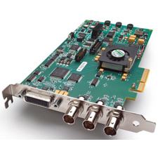 AJA Video KONA LHe Plus Multi-Format Analog and Digital SD/HD I/O Card with Two SDI Outputs