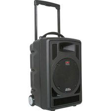 Galaxy Audio AS-TV8 Any Spot Traveler 8 Portable PA System - Perfect for Film & TV Playback!