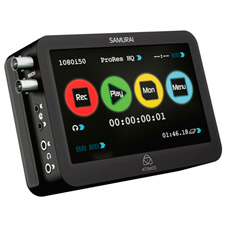 Atomos Samurai 10-Bit HD/SD-SDI Field Recorder Monitor and Playback & Playout Device