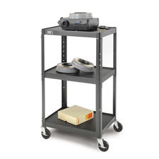 Da-Lite 4541 Adjustable Height Projection Cart AV2-42J 24W x 18D